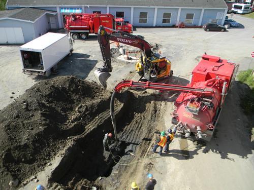 Hydro-Excavating